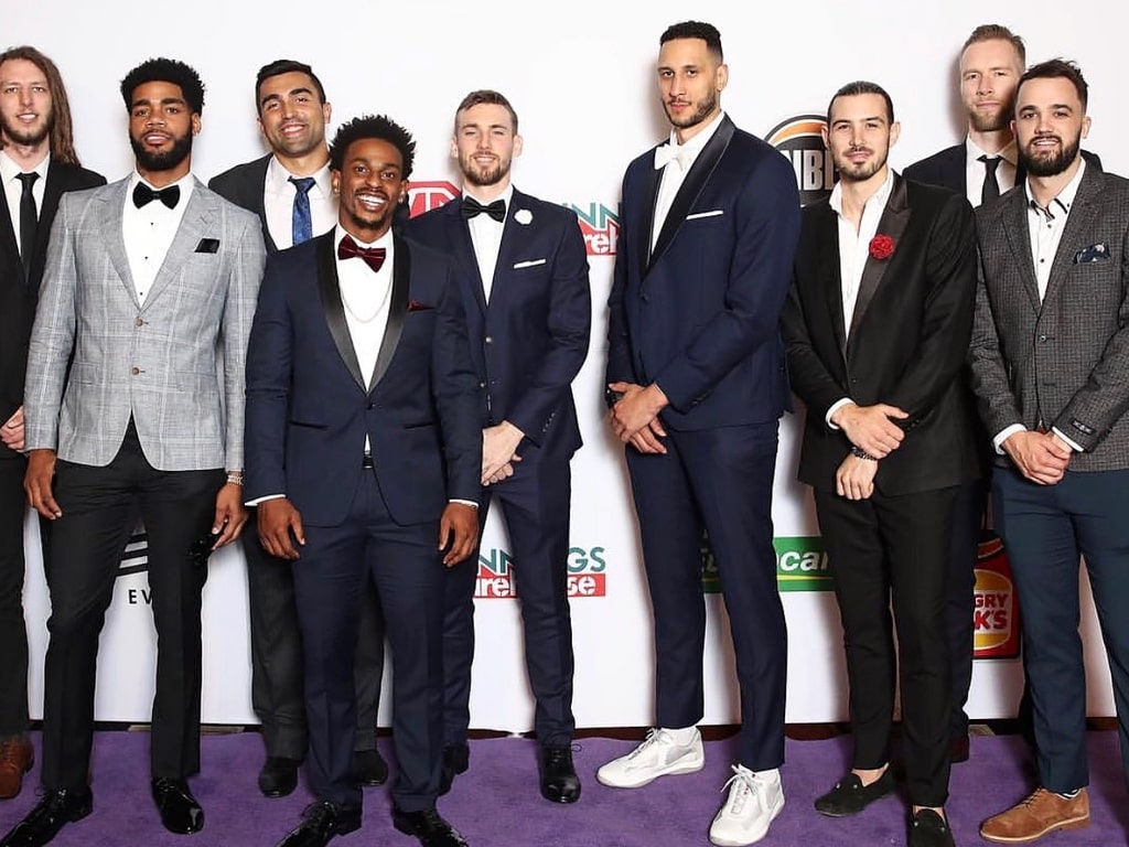 Melbourne United Squad On Point at Crown for NBL MVP Gala