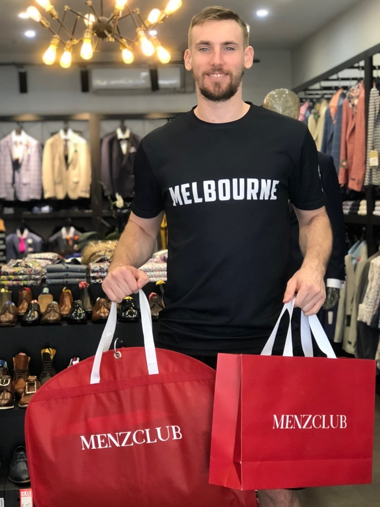 Mitchell McCarron of NBL's Melbourne United Stops by Menzclub