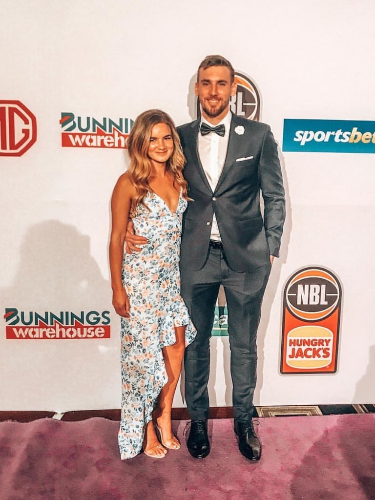 Mitchell McCarron at the Red Carpet for NBL's MVP Gala Night