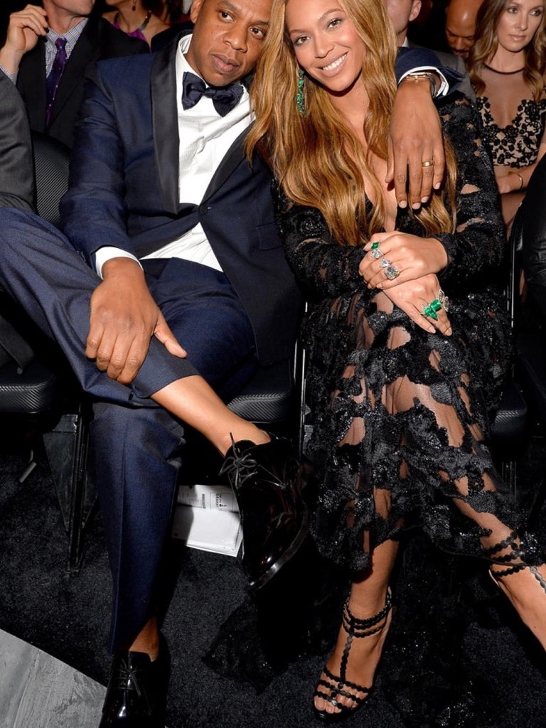 Jay Z wears Patent Leather Shoes