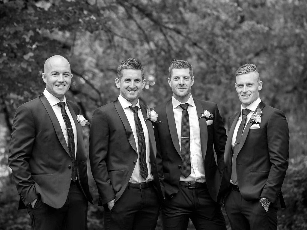 Men's Wedding Suits for the Grooms of Melbourne