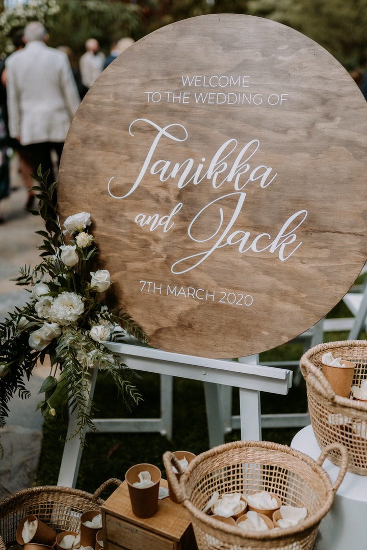 Tanikka & Jack's Melbourne Wedding | Wedding Suits Online