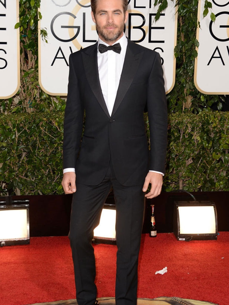 Chris Pine - Golden Globes 2017