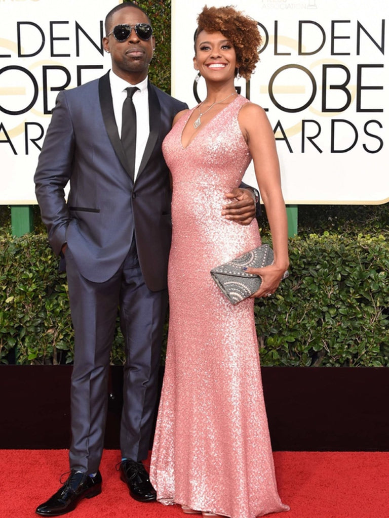 Sterling K Brown and Ryan Michelle Bathe - Golden Globes 2017