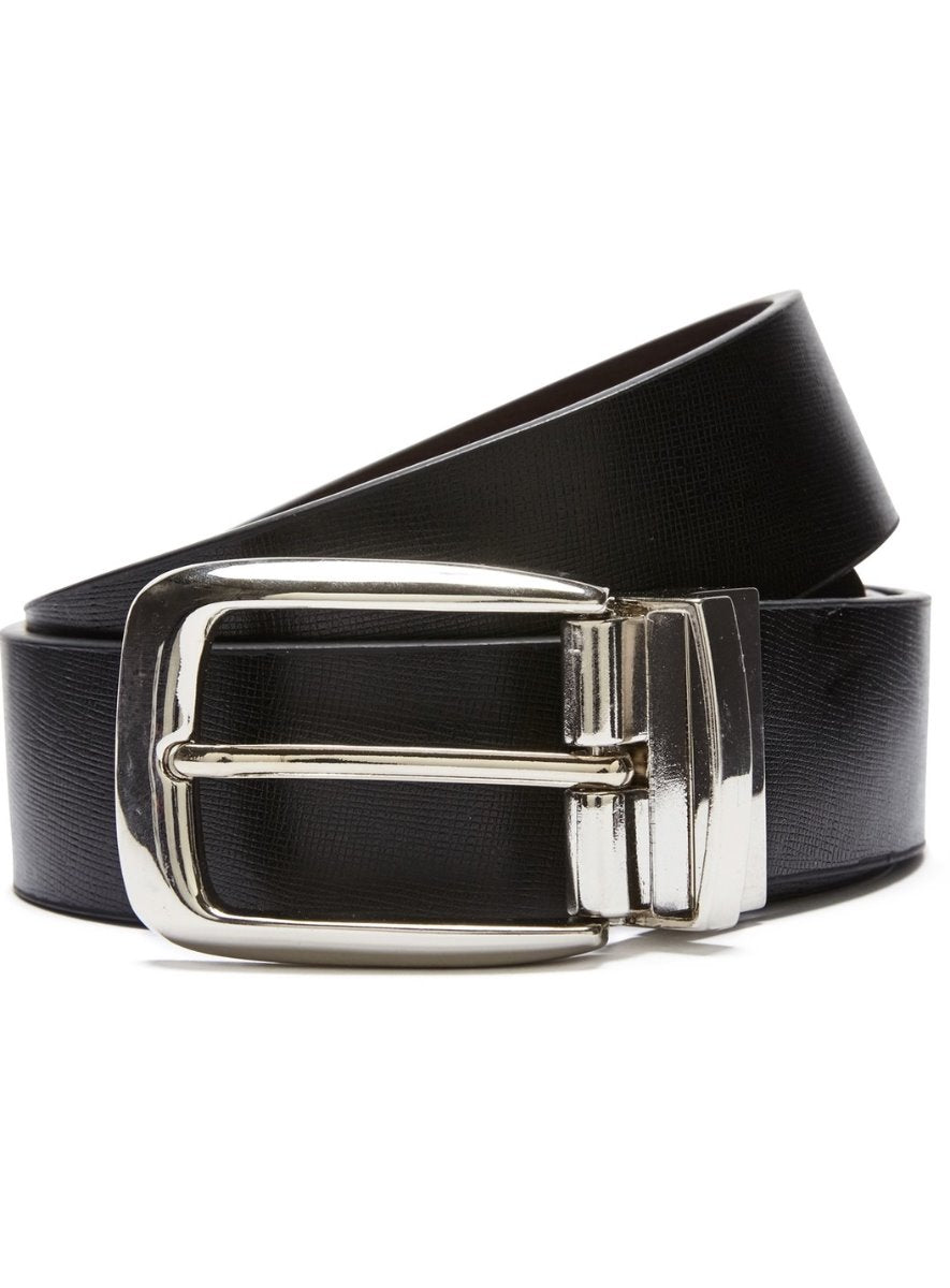 Mens Belts Online | Black reversible with Brown