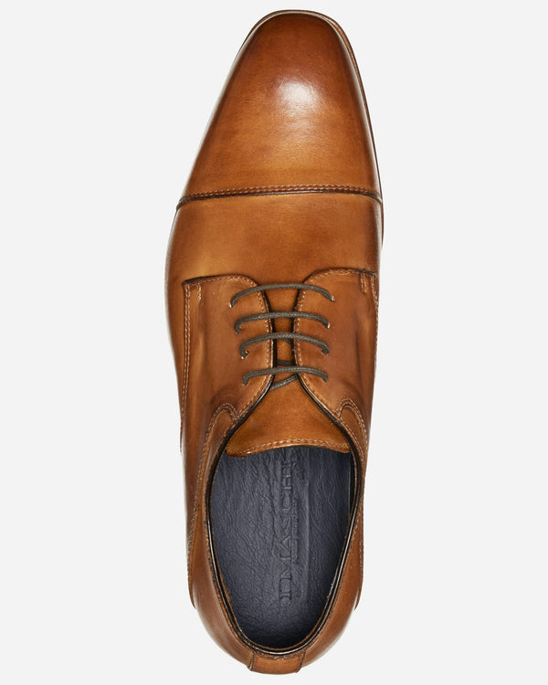 I Maschi Tan Derby Shoe | Men's Shoes Online - Menzclub