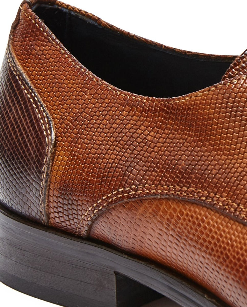 Textured Lace-Up |  Melbourne Shoe Stores - Menzclub