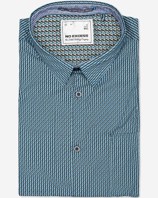 No Excess Pacific Shirt |  Casual Shirts - Menzclub