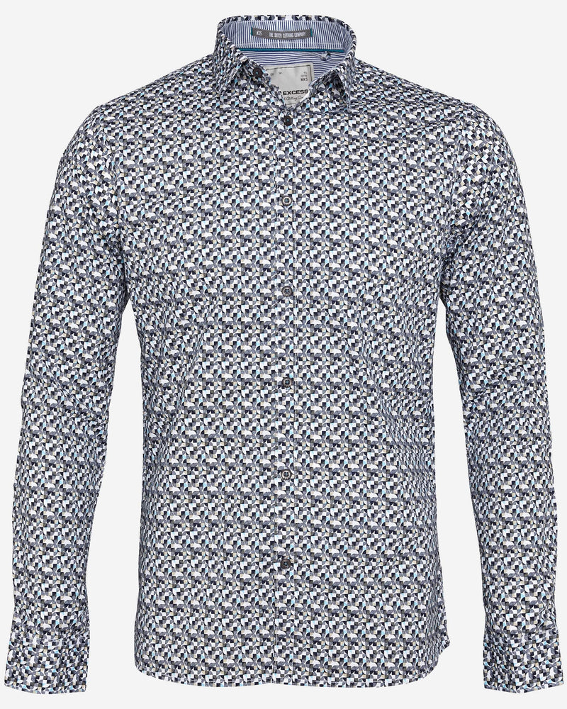 No Excess Arctic Shirt |  Casual Shirts - Menzclub