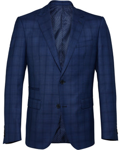 Men's Windowpane Check Suit | Chapel Street Clothing Stores