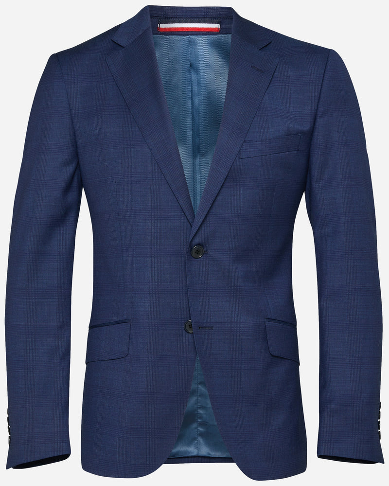 Alvarez Navy Check Suit | Buy Men's Suits