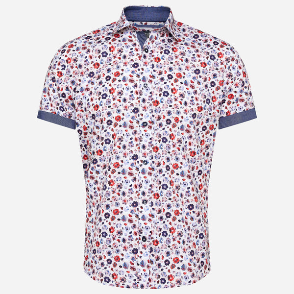 Thomson & Richards Angel Short Sleeve Shirt | Men's Shirts Online