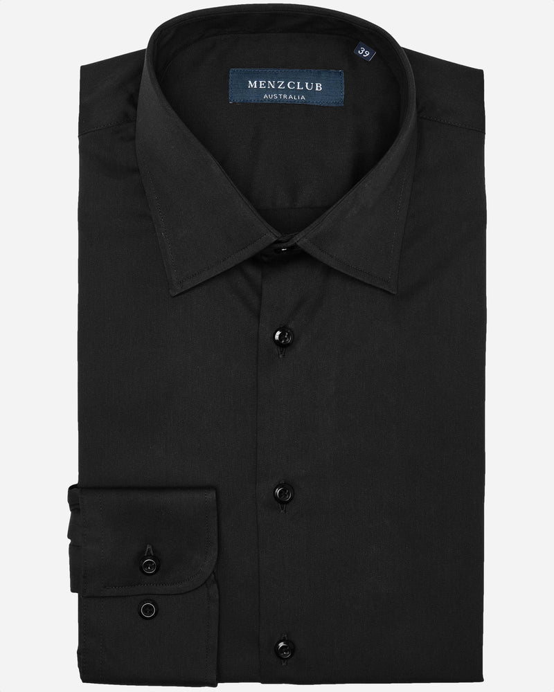 Beak Black Shirt | Men's Dress Shirts