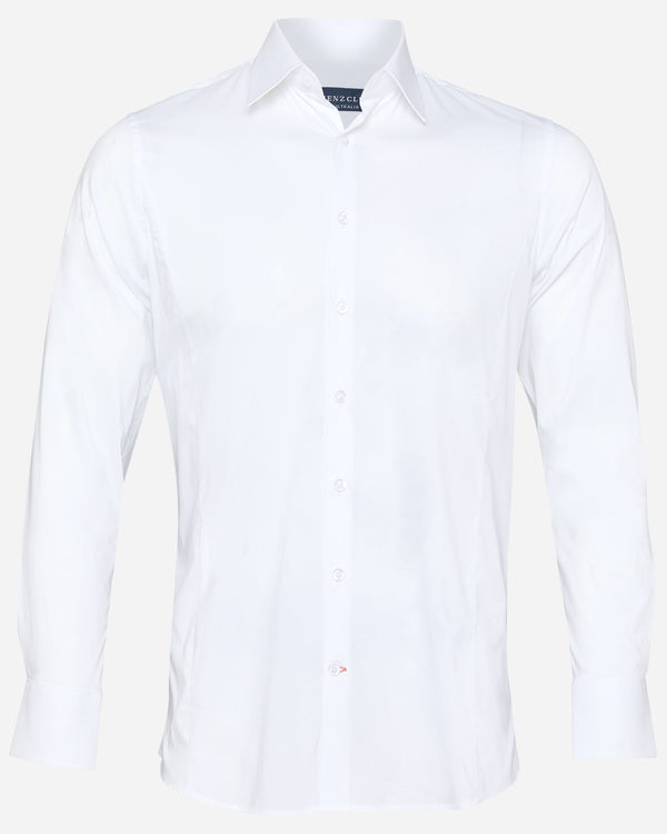 Beak White Dress Shirt | Men's Shirts Online