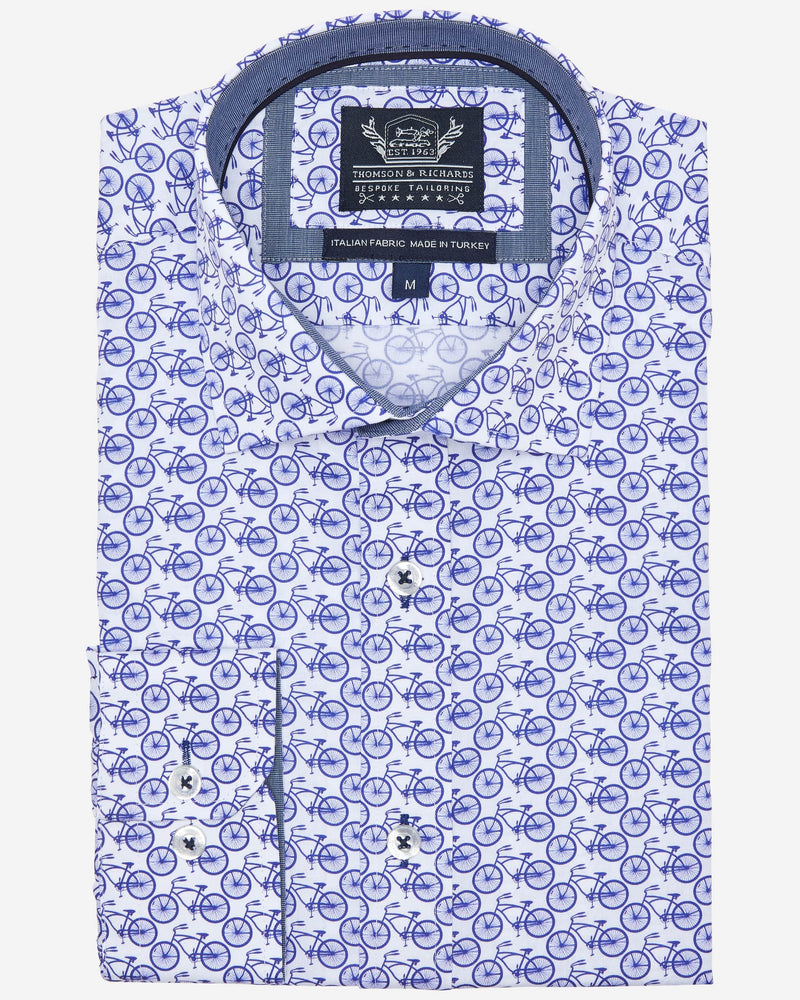 Thomson & Richards Bicycle Shirt | Men's Shirts Online - Menzclub