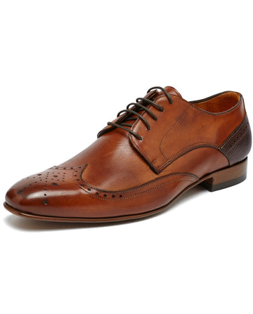 Men's Brogue Leather Shoe