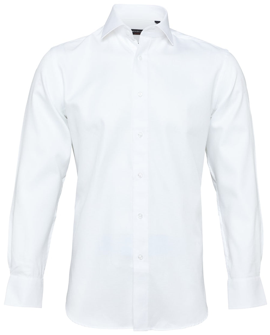 Men's Slim Fit White Shirts