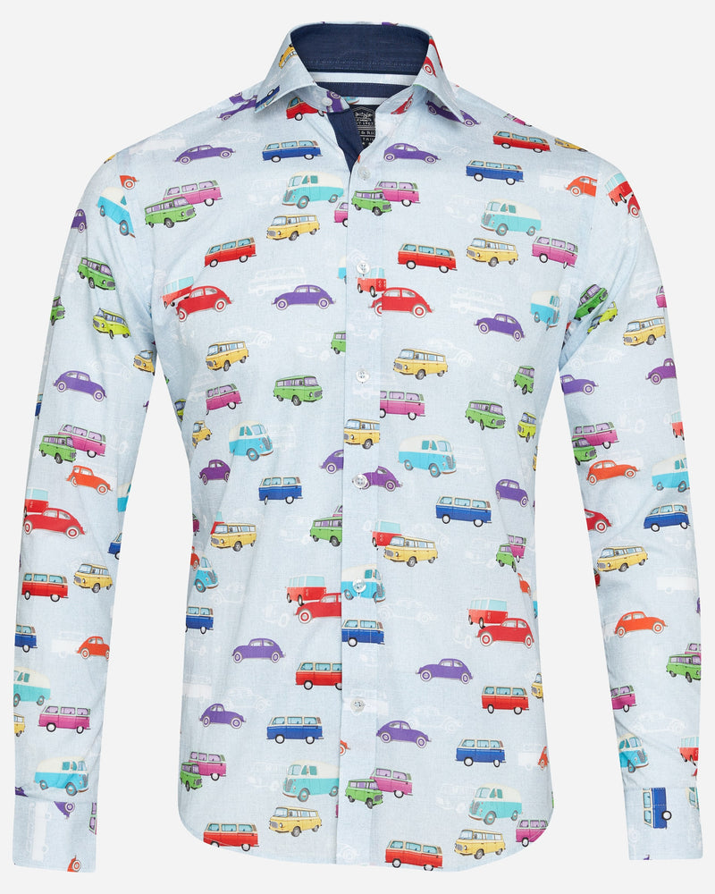 Campervan Shirt |  Casual Shirts - Menzclub