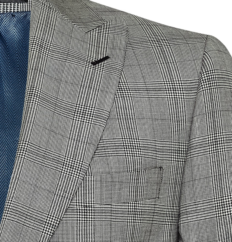 Mens Check Suits