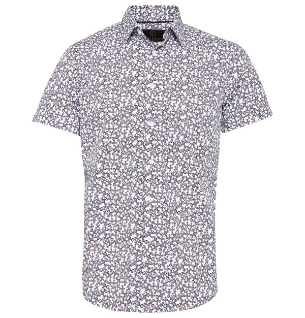 Cutler & Co Brent S/S Shirt |  Short Sleeve Shirts - Menzclub