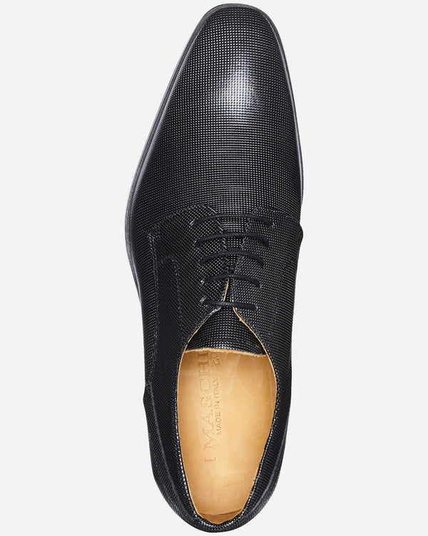 Dallas Nero Derby |  Lace Up - Menzclub