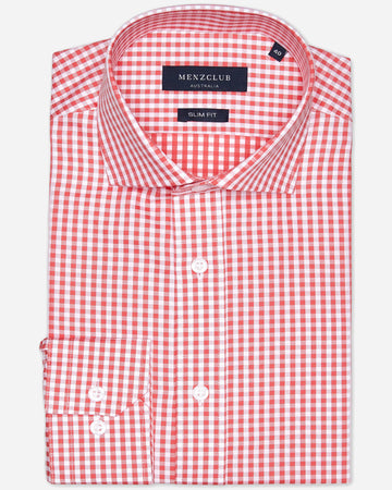 Men's Check Business Shirts