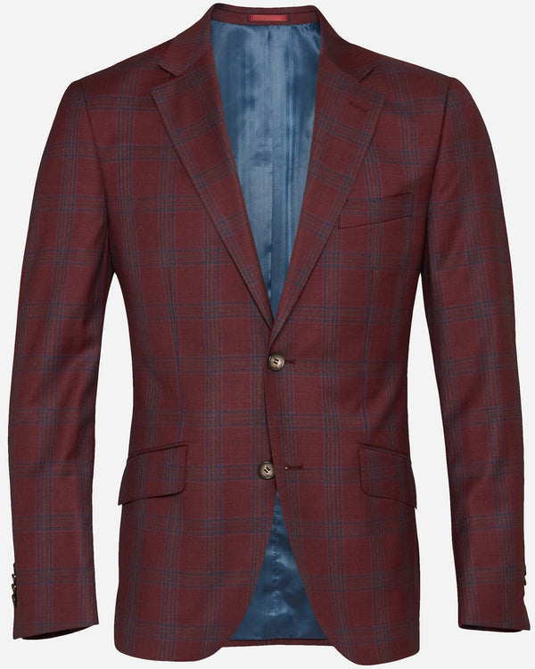 Burgundy Suits for Men