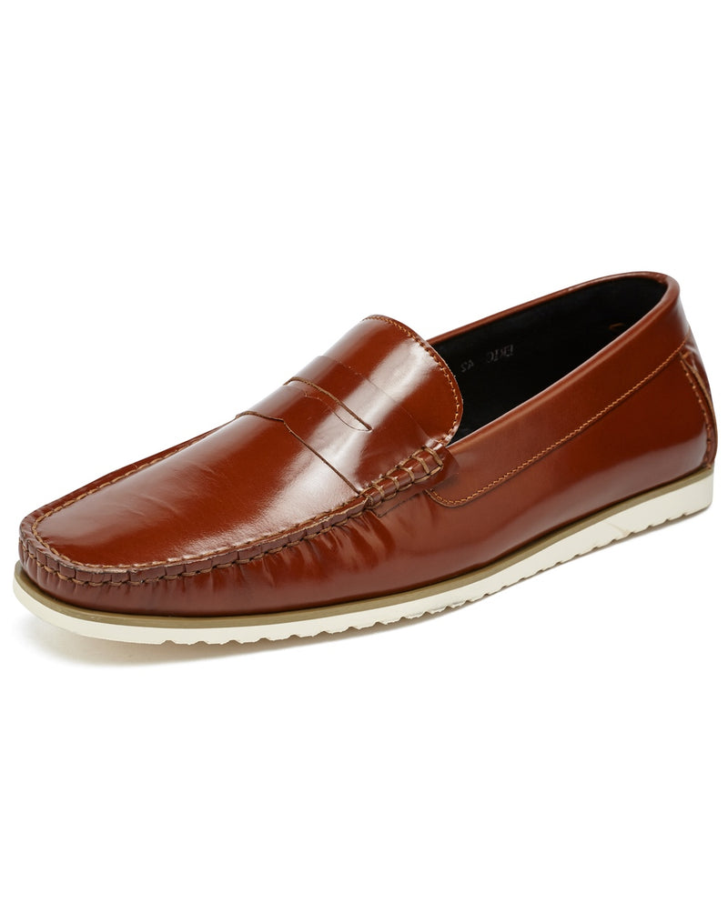 Leather Loafers & Driving Shoes
