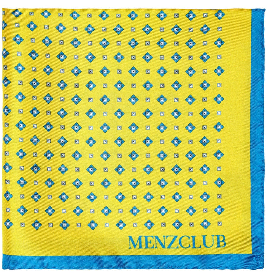 Yellow Pocket Square | Men's Online Store