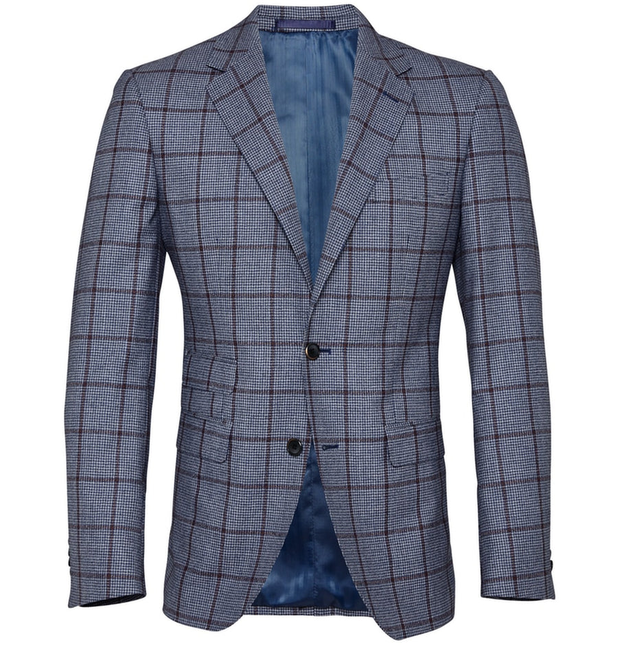 Fernando Check Sport Coat | Men's Blazers Melbourne