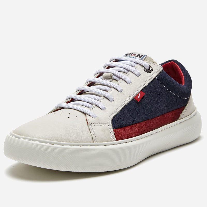 Ferracini White Casual Sneaker | Men's Shoe Stores Highpoint