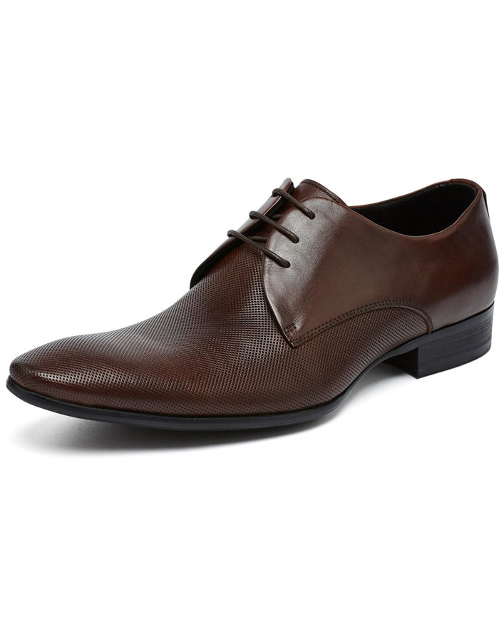 Brown Derby Lace Up Shoe