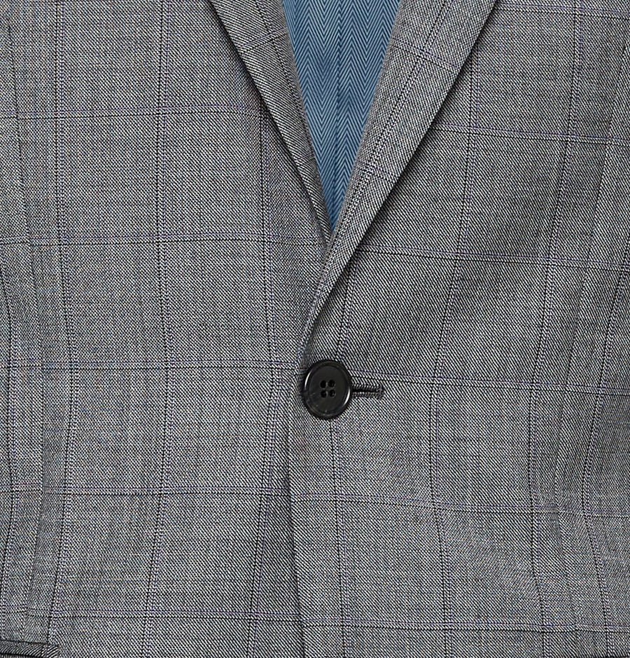 Men's Grey Check Suits