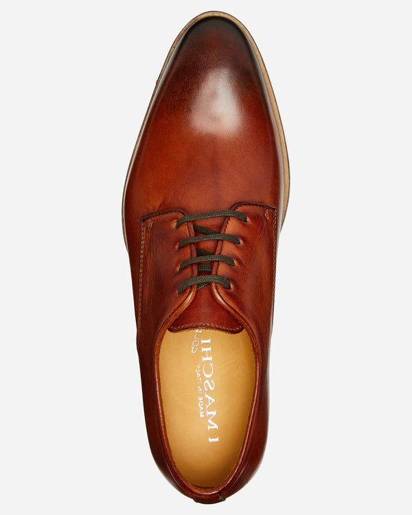 Tan Derby Lace Up | Men's Shoe Stores Melbourne