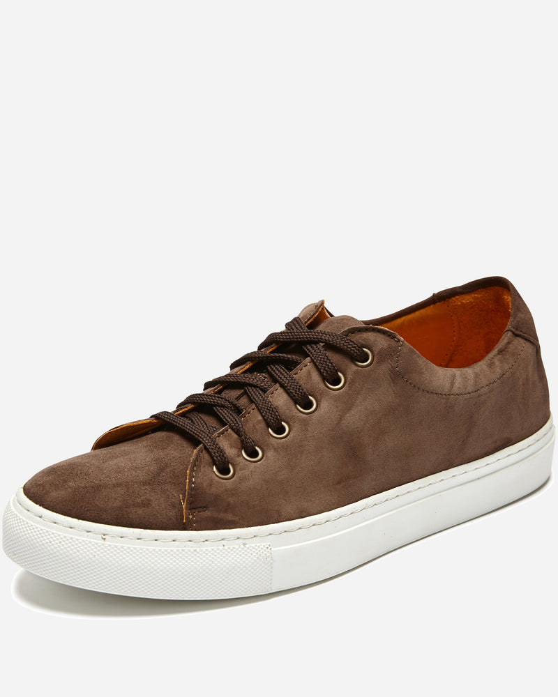 Taupe Suede Sneakers |  Sneakers - Menzclub