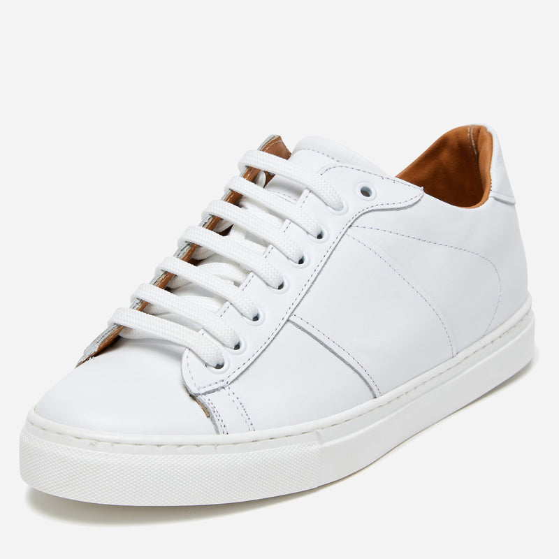 White Leather Sneakers | Buy Men's Shoes Online