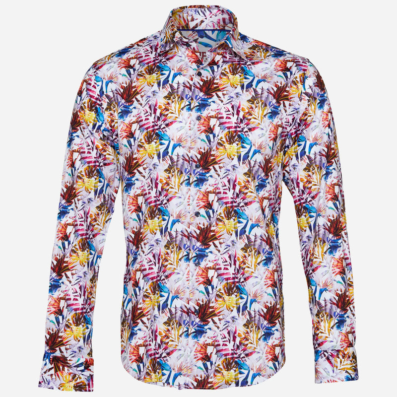 Jimmy Fox Printed Shirt | Men's Clothing Highpoint Shopping Centre