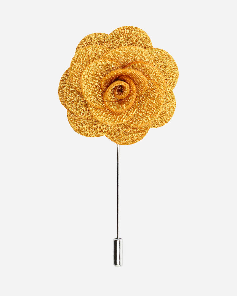 Yellow Flower Pin |  Lapel Pins - Menzclub
