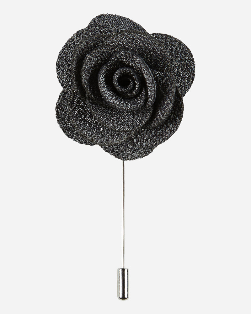 Grey Flower Pin |  Lapel Pins - Menzclub
