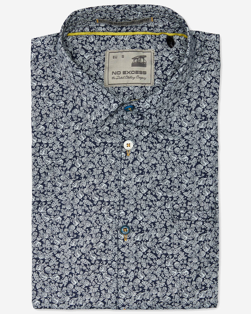Leaves S/S Shirt |  Short Sleeve Shirts - Menzclub