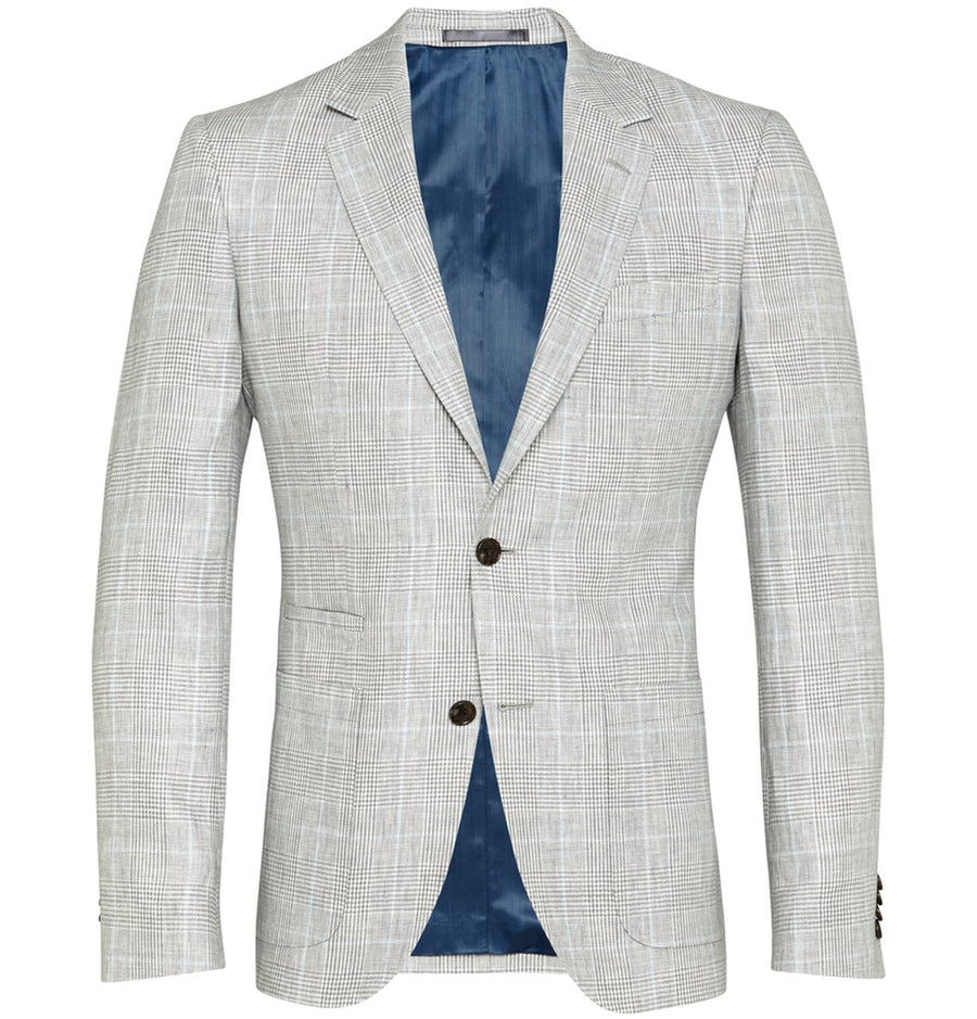 Beige Check Sport Coat | Men's Blazers Melbourne