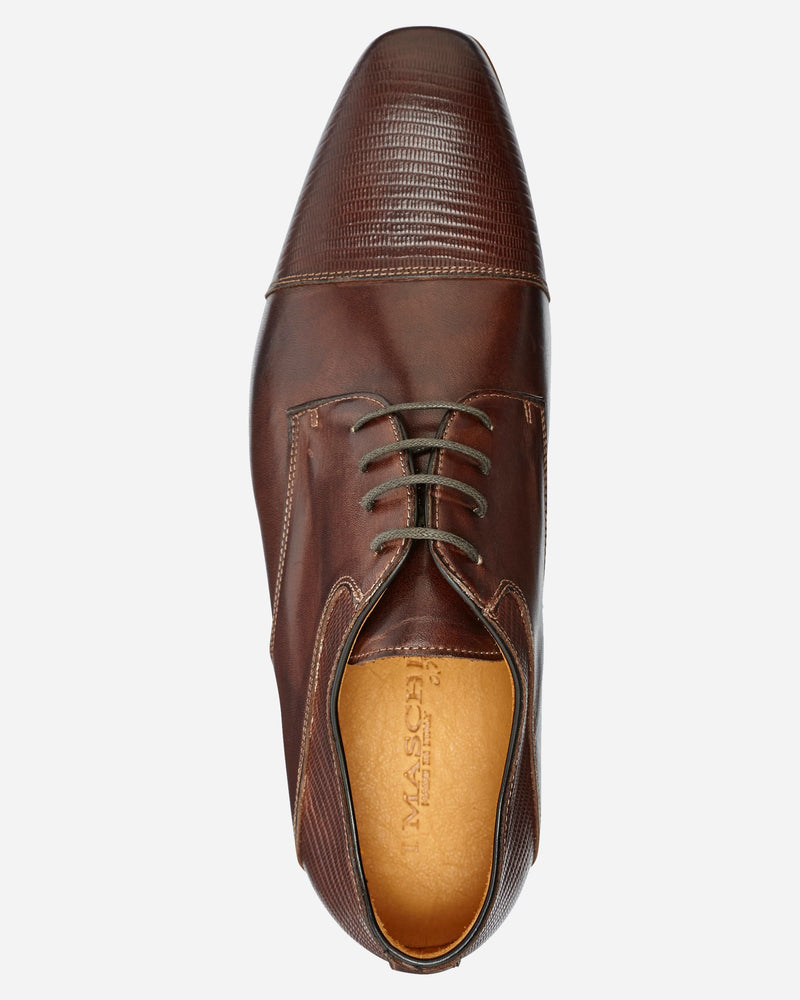 Lizard Lace-Up |  Lace Up Shoes - Menzclub