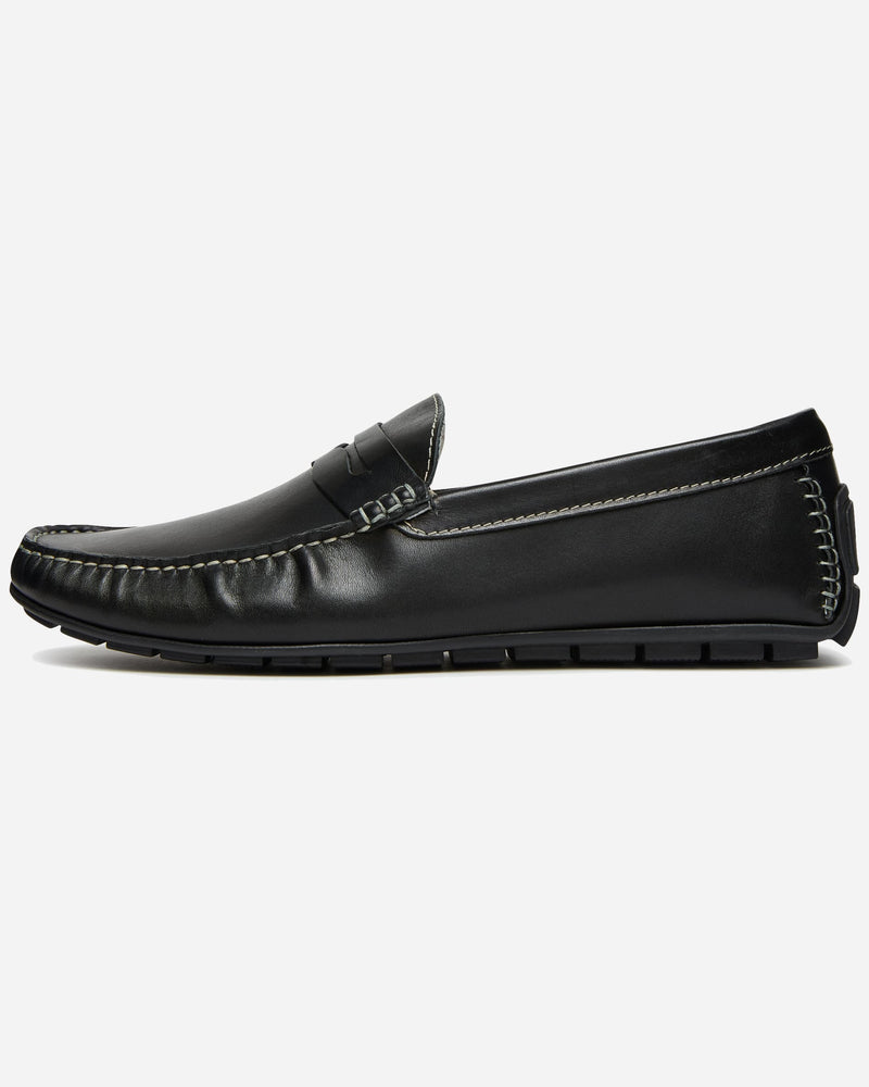 Acri Black Driver |  Men's Shoes Online - Menzclub