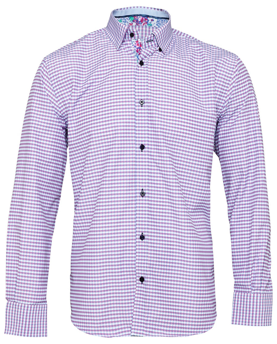 Men's Casual Shirts with Contrast Trims