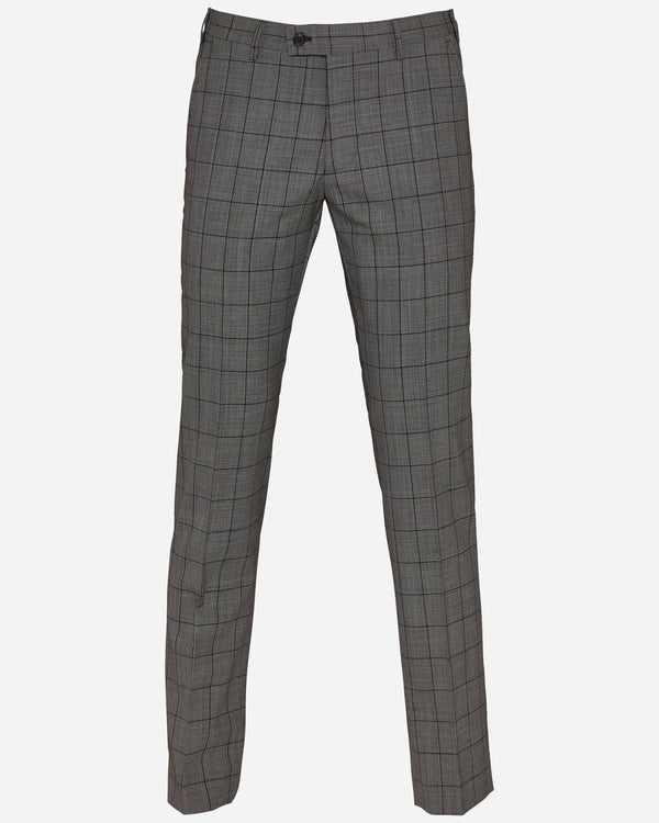 Men's Grey Check Suits Online