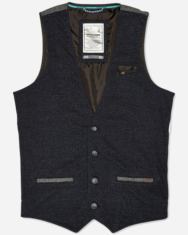 No Excess Casual Vest