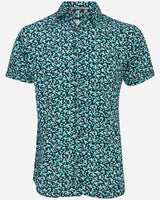 Floral S/S Shirt |  Short Sleeve Shirts - Menzclub