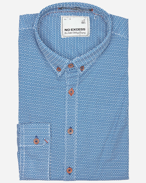 No Excess Shirt |  Casual Shirts - Menzclub