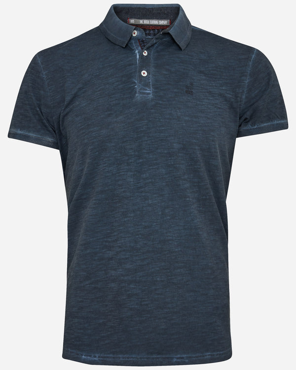 Washed Polo |  T-Shirts - Menzclub