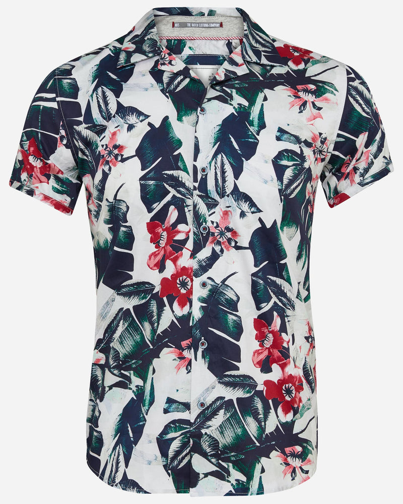Floral Shirt |  Short Sleeve Shirts - Menzclub